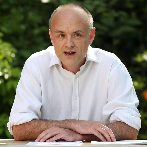 Boris Johnsons topprådgivare Dominic Cummings