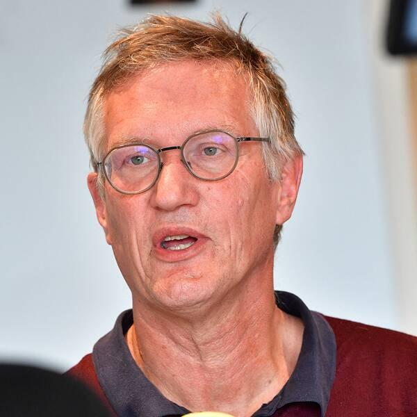 Anders Tegnell, statsepidemiolog Folkhälsomyndigheten