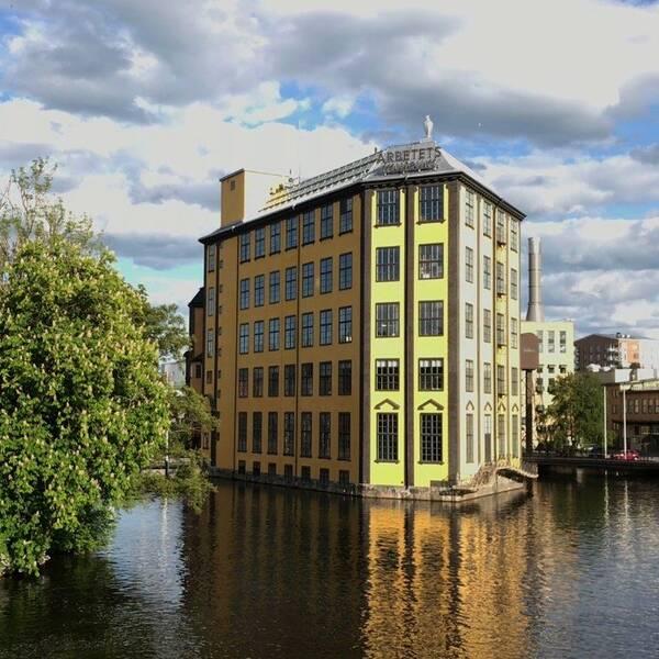 Arbetets museum Strykjärnet Norrköping