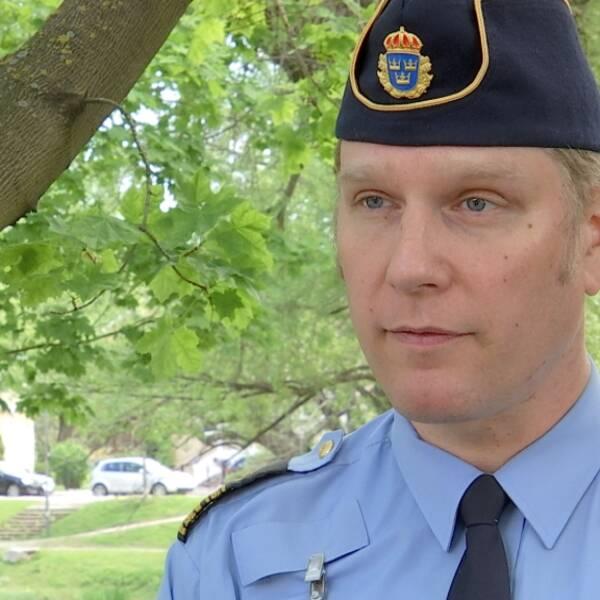 Josef Wiklund, lokalpolisområdeschef Medelpad.