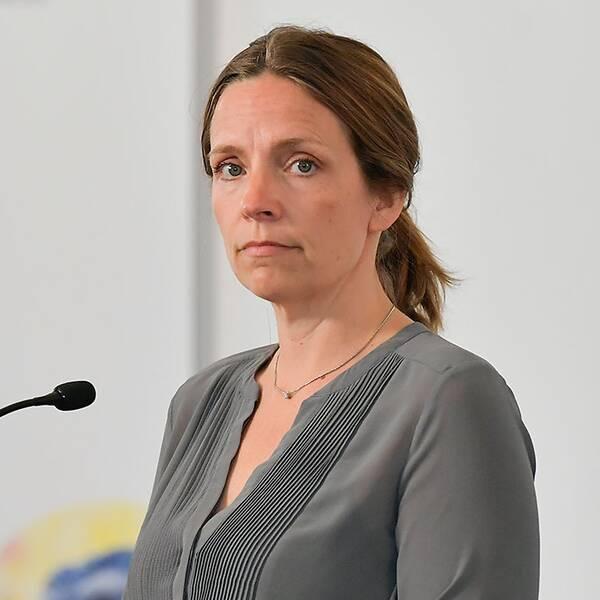 Johanna Sandwall, socialstyrelsen och Sara Byfors, enhetschef, Folkhälsomyndigheten