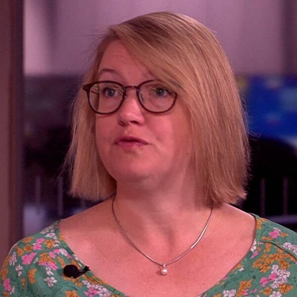 SVT:s reporter Marja Grill