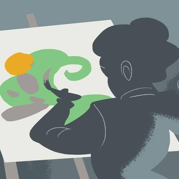 Konstnären har fått konstnärslön samtidigt som hen fakturerat för sitt arbete genom en anhörigs företag.
