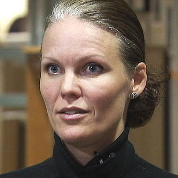 Andrea Hammar är utredare av hatbrott hos Göteborgspolisen.