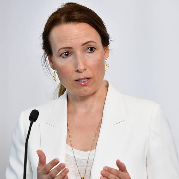 HeidiStensmyren,ordförande iLäkarförbundet, säger att de villatt regeringen ger myndigheteri uppdrag att koordinera nationella väntelistor. Arkivbild.