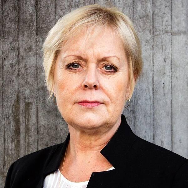 Lena Ag, generaldirektör för organisationen Kvinna till Kvinna.