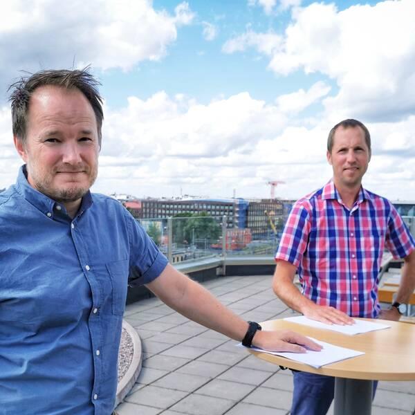 Tobias Smedberg, Erik Pelling