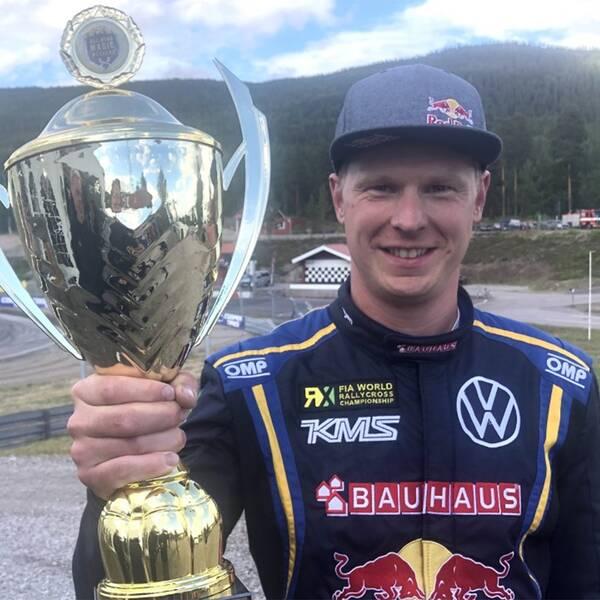 Nöjd tvåa i Höljes – Johan Kristoffersson.