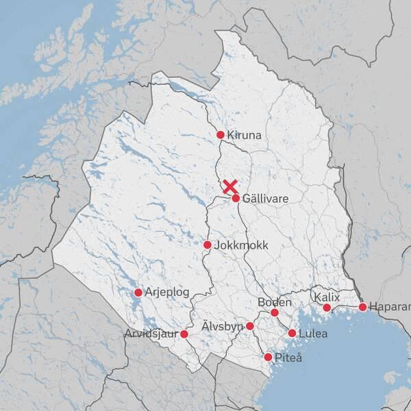 Natten till fredagen slogs köldrekord för juli månad i Latnivaara, nordväst om Gällivare i Norrbotten.