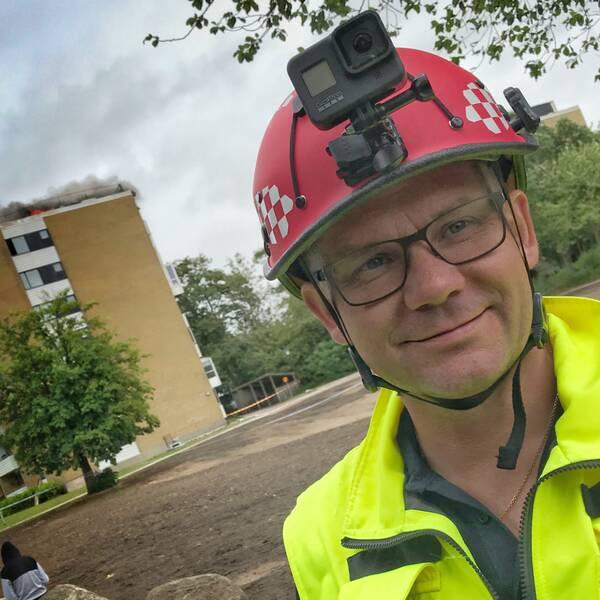 Henrik Persson stabschef Räddningstjänsten Syd