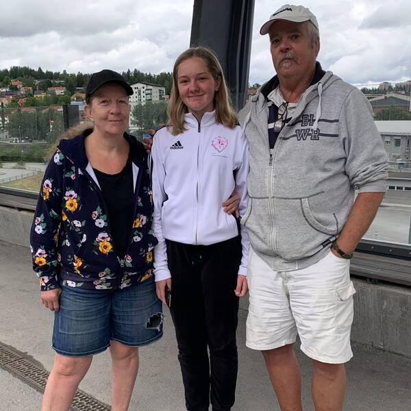 Lena Nordkvist, Thilde Berggren och Bengt Berggren