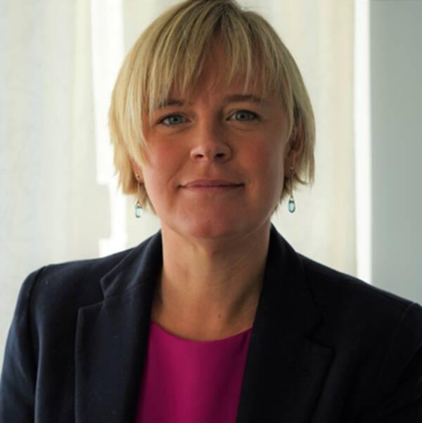 Linn Kennedy, ny programchef för Skånes Digitala Vårdsystem.