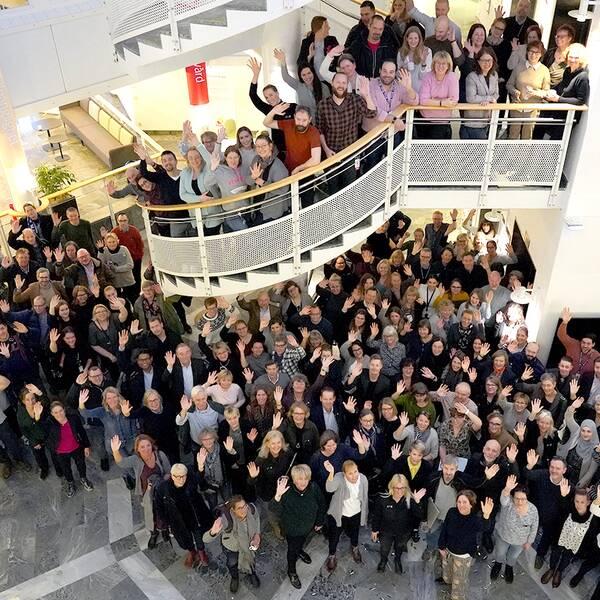 Över 300 regionanställda samt ett stort antal konsulter arbetar med att färdigställa SDV i Region Skåne. I februari strax innan pandemin bröt ut, samlades medarbetarna för två veckors presentationer av systemets olika delprojekt. Under våren har många arbetsmöten skett digitalt för att undvika smittspridning.