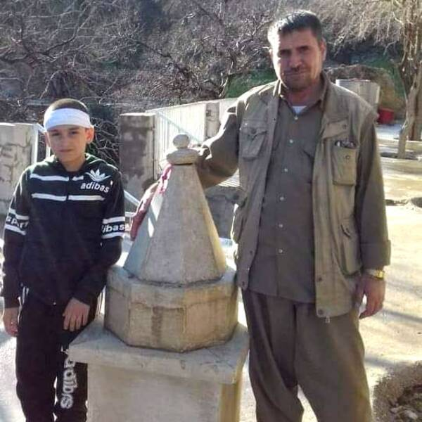 Kamiran och hans pappa
