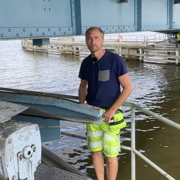 David Noreen är drifttekniker på Strängnäs kommun.