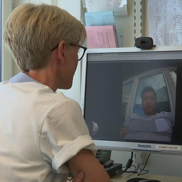 internetmöte, videomöte inom sjukvården