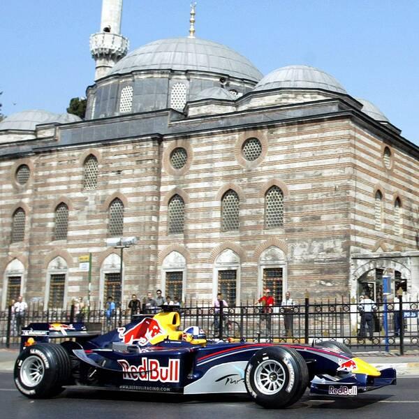 David Coulthard i Istanbul 2005