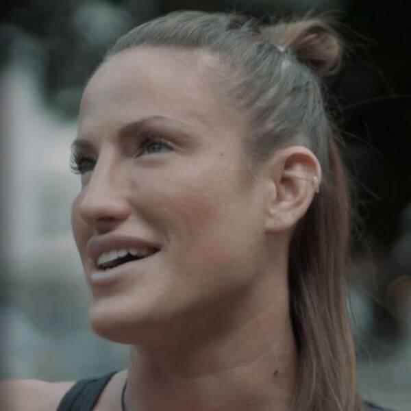 Bea Malecki, 29, var världsmästare i thaiboxning innan hon bytte sport till MMA.