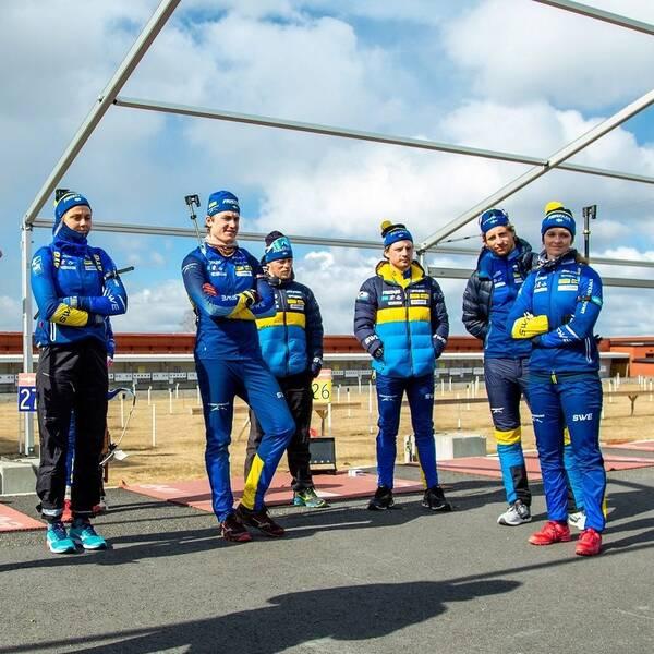 Svenska skidskyttelandslaget är samlat