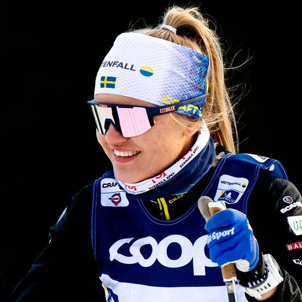 Linn Svahn är numera med i SOK:s Topp och talang-program.