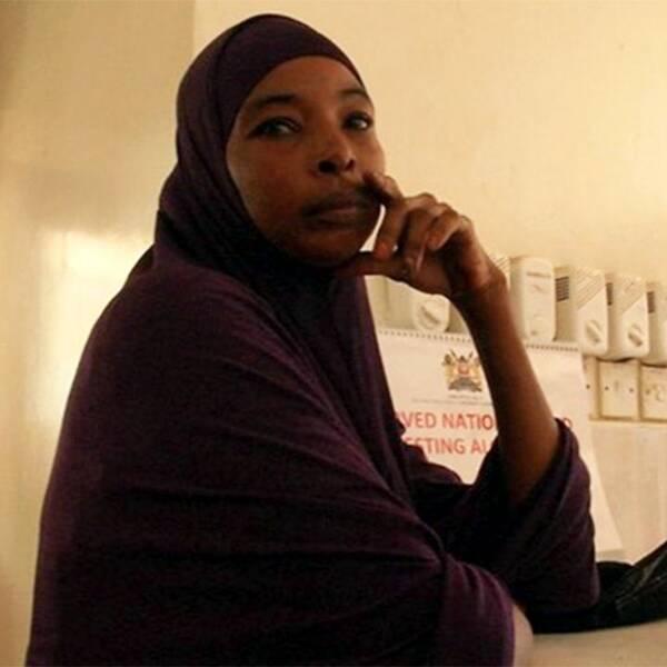 """""""De hittade henne nu i morse på taket där hon varit i tre dagar"""", säger Mimi Fatuma."""