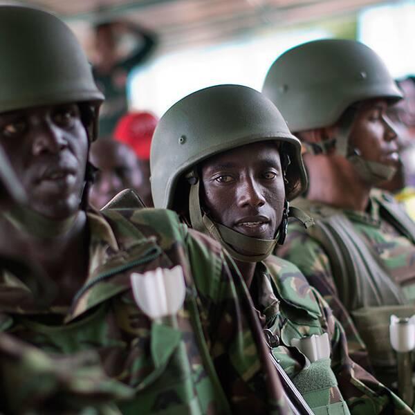 Kenyanska säkerhetsstyrkor