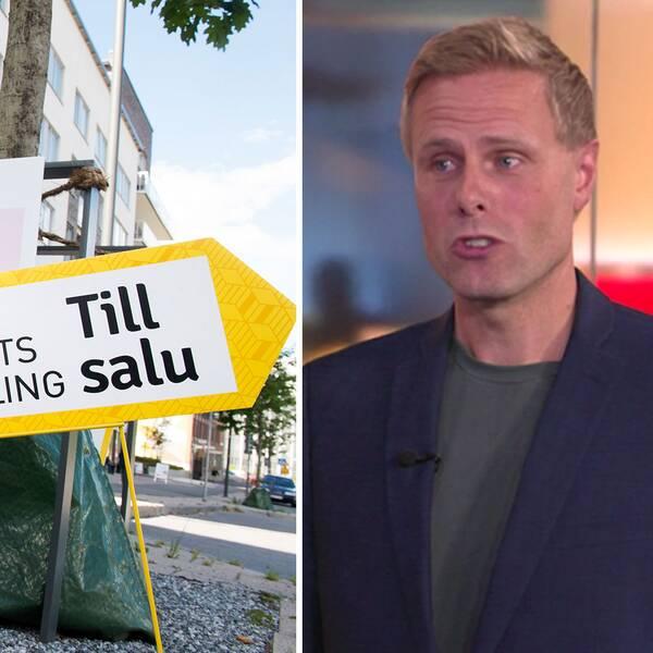 SvD Näringslivs chef Daniel Kederstedt