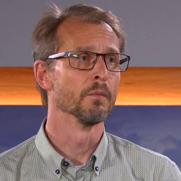 Mattias Waldeck, biträdande smittskyddsläkare i Region Skåne