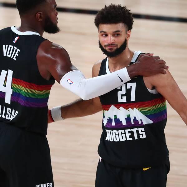 Denver Nuggets reducerade i semifinalserien mot Los Angeles Lakers