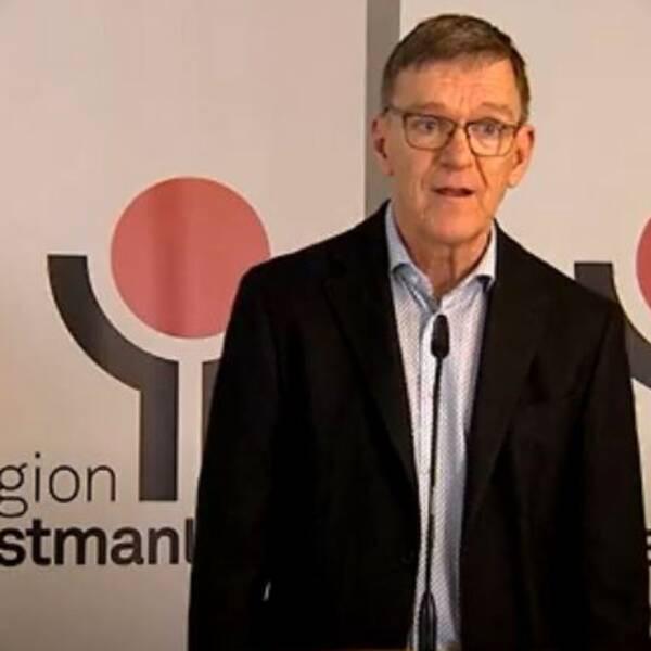 Jan Smedjegård, smittskyddsläkare, region Västmanland