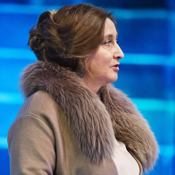 Konståkningsförbundets nuvarande ordförande Katarina Henriksson.