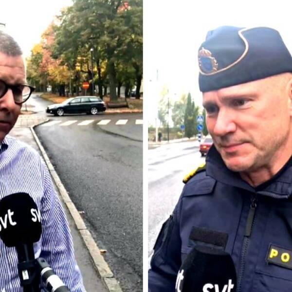Hör kommundirektör Hans Karlsson och lokalpolisområdeschefen Jonas Wendel berätta mer i klippet.