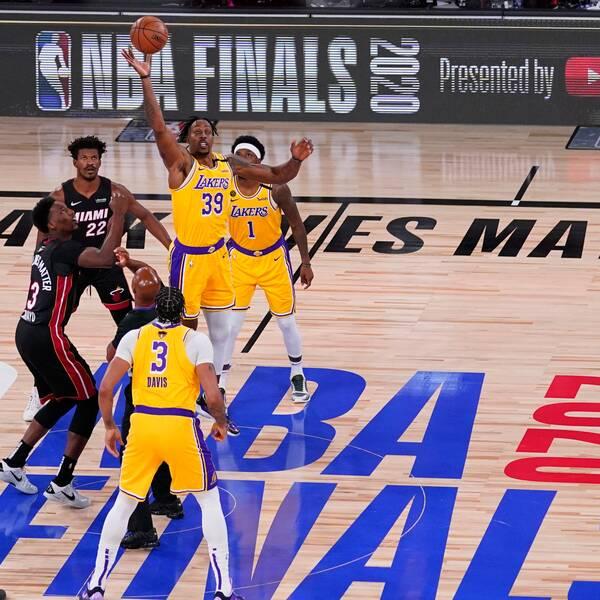 Det var ovanligt lågt intresse för den första NBA-finalen.