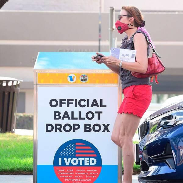 Poströstning i USA