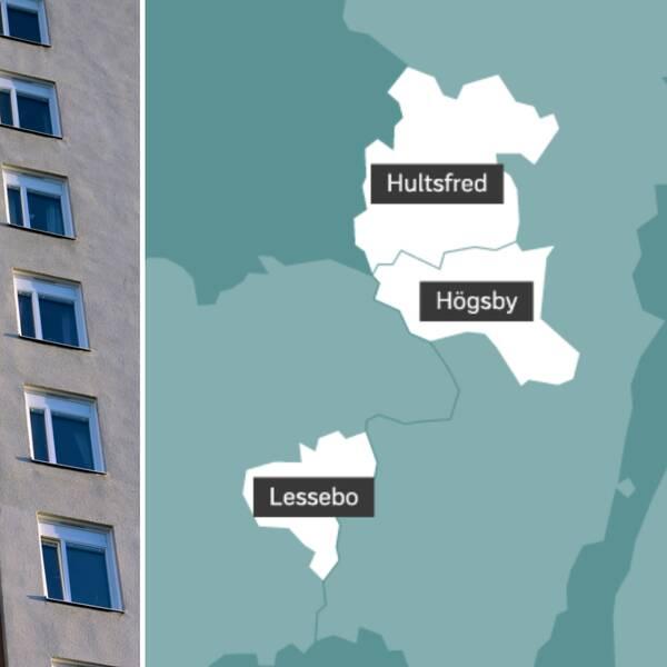 Andelen trångbodda som dessutom har en svag boendeekonomi är som högst i tre kommuner.