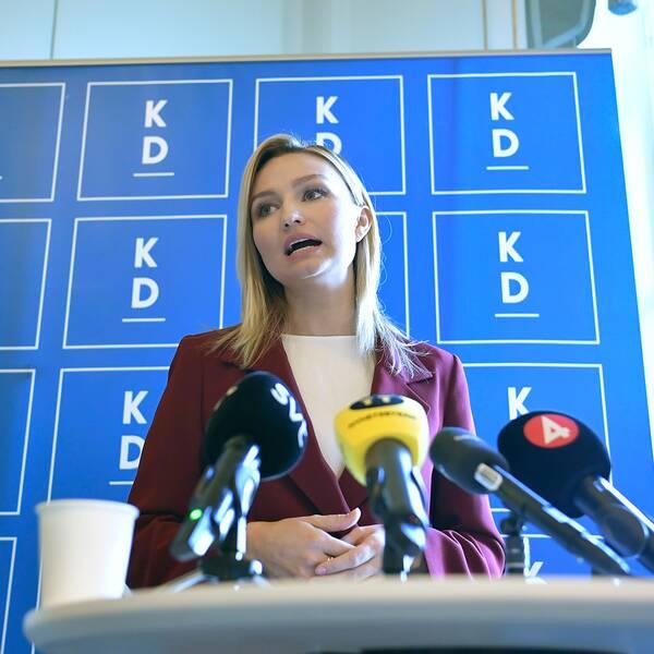 KD-ledaren Ebba Busch