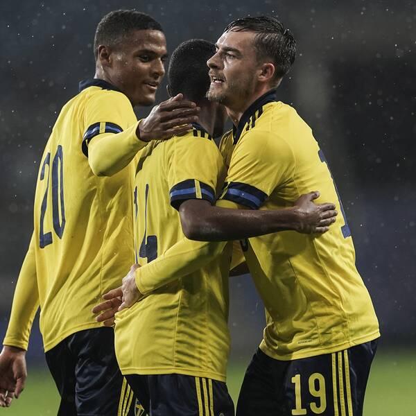 Sveriges galna match – tio mål mot Armenien