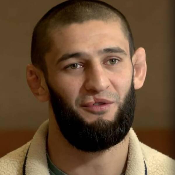 MMA-fajtern Khamzat Chimaev, 26, har gjort kometkarriär i UFC.