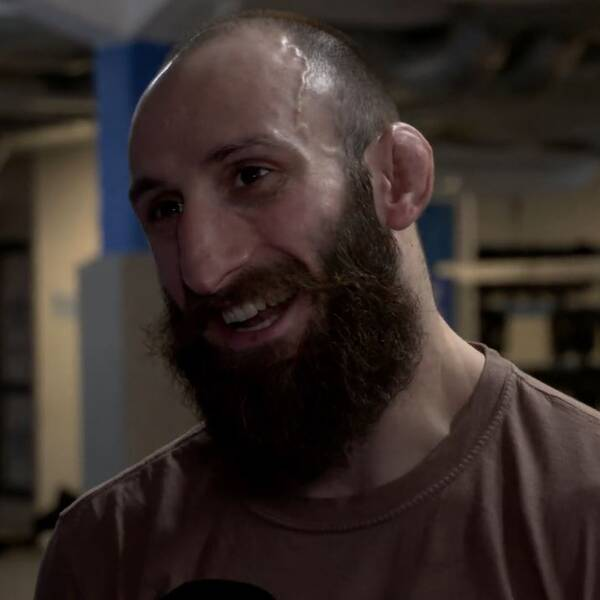 MMA-fajtern Guram Kutateladze, 28, gör UFC-debut i helgen.