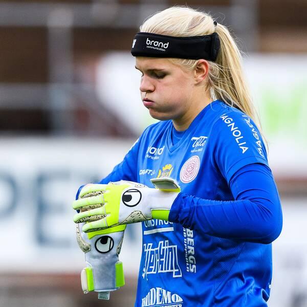 Emma Holmgren i Uppsala.