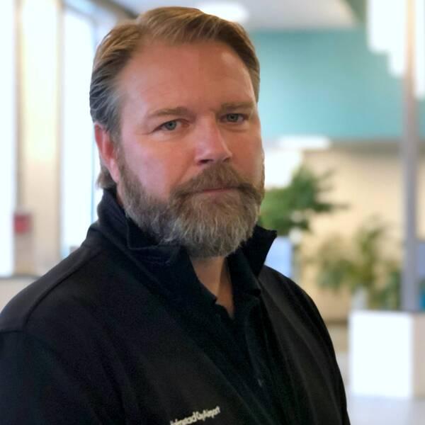 Magnus Edman, vd, Halmstads flygplats.