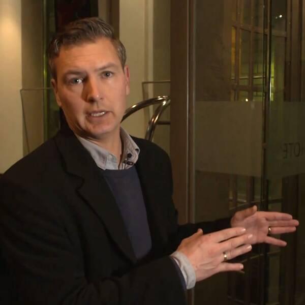 SVT:s EU-korrespondent Christoffer Wendick på plats i Wien.