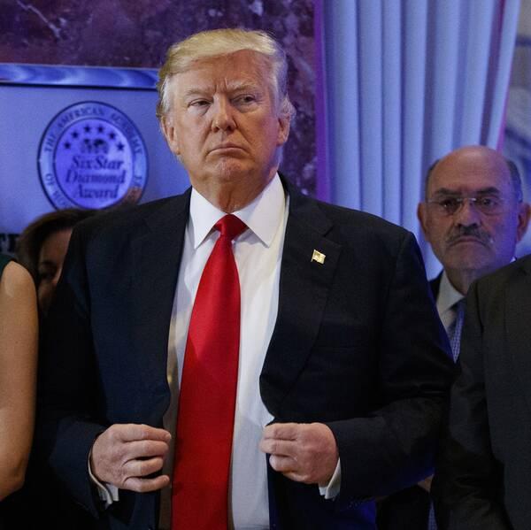 Ivanka Trump, Donald Trump och Donald Trump JR.