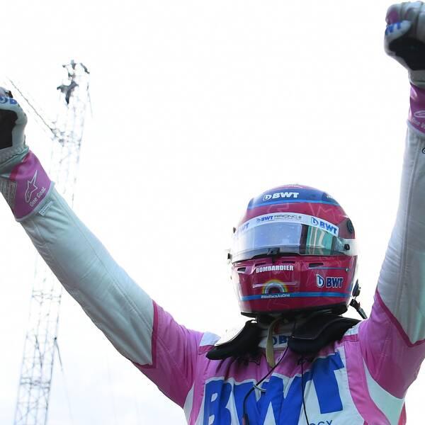 Lance Stroll vann dagens F1-kval.