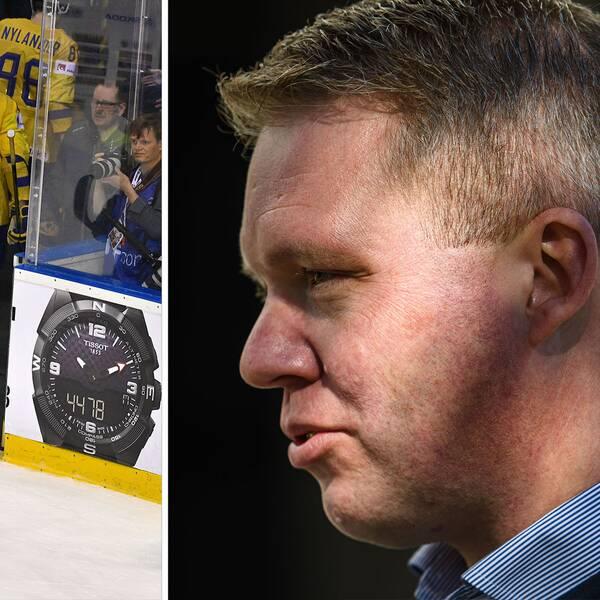 Svenska ishockeyförbundets ordförande Anders Larsson