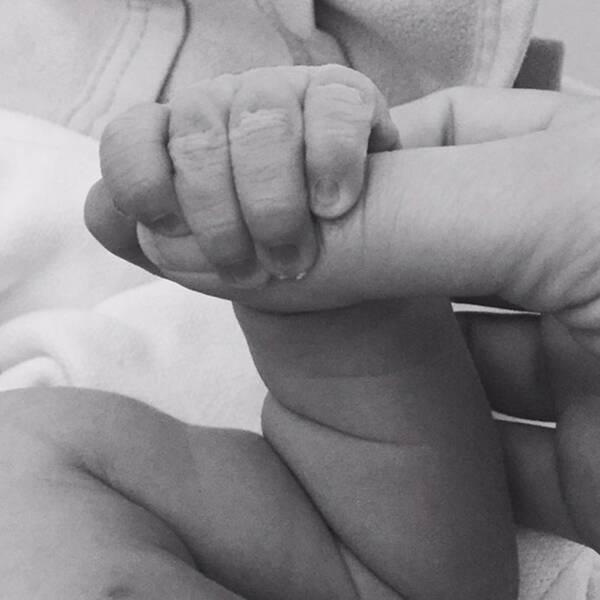 Nu har KD-ledaren Ebba Busch Thor blivit mamma.