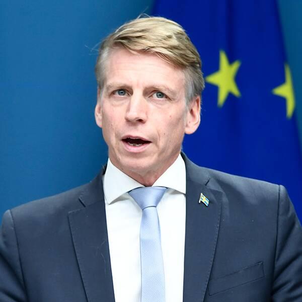 Bostads- och finansmarknadsminister Per Bolund.