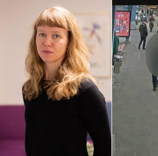 """""""Hittills kan vi se att en stor del, både av de som begår och som utsätts, kommer från socioekonomiskt utsatta områden"""", säger Maria von Bredow, utredare på Brå. Bilden kommer från en av Polismyndighetens förundersökningar i Stockholm."""