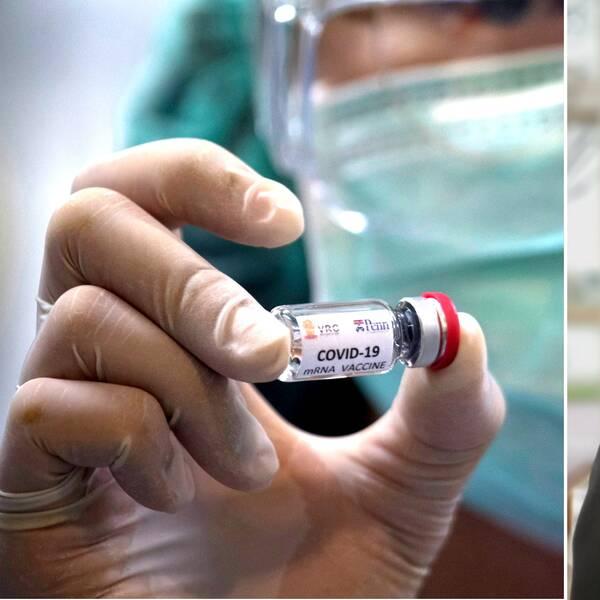 """Ett 20-tal personer på regionstaben i Region Kalmar län jobbar idag med förberedelser inför vaccinering mot covid-19. """"Man måste planera brett"""", säger Andreas Delphin, samordnare."""
