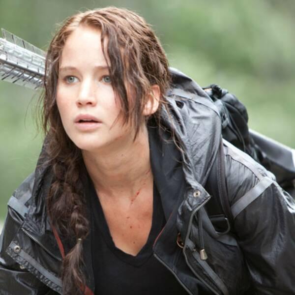 Jennifer Lawrence i Hunger Games.